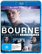 The Bourne Quadrilogy Blu-ray 5Disc [5 Discs] [Region B] [Blu-ray]