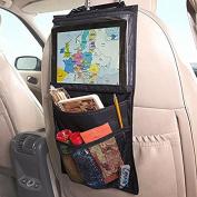 ETGtek 3pcs Ipad Car Headrest Holder Tablet Wallet Case / Bag With Back Seat Pockets