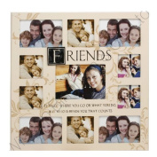 Fun Daisy Friends 11 Photo Picture Frame Collage Keepsake Memories Sentiment Gift Stamp