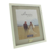 Fun Daisy Gold Crystal Ring Photo Picture Frame Wedding Anniversary Standing Gift