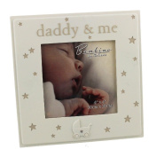 Fun Daisy Daddy And Me Photo Frame Gift Shabby Chic Resin Keepsake Memories Love Bedroom