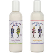 2 x Earth Friendly Kids® Children Skin Body Lotion with Natural Certified ORGANIC Ingredients 250ml (Mix