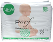 Poof Nappies - Loops - Size 4 - 22 ct