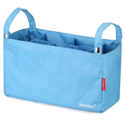 Multifunctional Baby Nappy Bags Organiser changing Bags for Strollers Blue