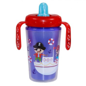 NEW LORELLI LORELLI INSULATED SIPPER CUP WITH HANDLES PIRATE spout sippy toddler