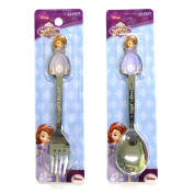 Disney Sofia Stainless steel Spoon & Fork Set by Sofia the First