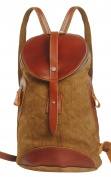 Tina Women's Retro Cute Belted Flap Zippered Travel Backpack Outdoor Rucksack