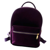 Ouneed Women Canvas Backpack Rucksack Small Laptop School Bags Travel Weekend Bag