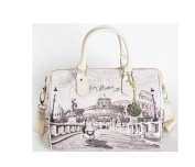 Ynot. Bauletto Medium Roma with Love Handbag