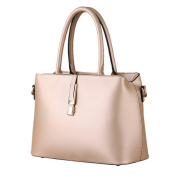 Women's Fashion Shoulder Top Handle Bag PU Leather Removeable Strap Tote