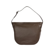 Trussardi Woman Shoulder Bag in Genuine Dollar and Smooth Leather, 100% Calf - 34x32x12 Cm