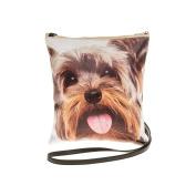 Yorkie, Yorkshire Terrier Dog Face Crossbody/Shoulder Bag