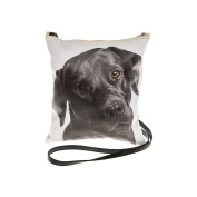Black Labrador Dog Face Crossbody/Shoulder Bag