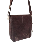 Hill Burry Women's Shoulder Bag Brown BROWN