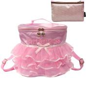 kilofly Ballerina Ballet Tutu Barbie Dress Dance Bag Backpack + Handy Pouch