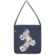 Twisted Envy Watercolour Bird Cage Tote Bag
