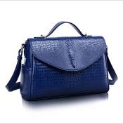 Tote bag / leather handbag / Messenger bag crocodile pattern small square package