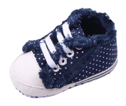Toyobuy Baby Toddler Small Dots Soft-soled Prewalker Shoes Sneakers