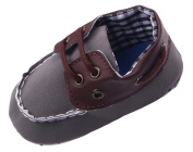 Toyobuy Baby Infant Toddler Soft Sole Nubuck Leather Shoes Prewalkers