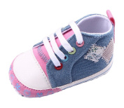 Toyobuy Baby's Printing Canvas Soft-soled Toddler Prewalker Shoes