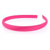 10MM SKINNY SATIN ALICE BANDS - 20 VIBRANT COLOURS TO PICK FROM by TF's