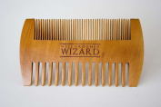 Double Sided Wooden Beard & Hair Comb - High Quality Beard Care By Well Groomed Wizard