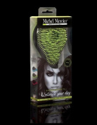 Michel Mercier Professional Quality Detangling Hair Brush For Normal Hair Green