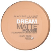 Maybelline New York Dream Matte Mousse Foundation, Honey Beige, 20ml (Pack of 2) by Maybelline
