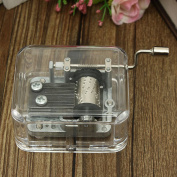 KING DO WAY Antique Mechanical Music Box Unique Gift Valentine City for Sky/Canon/For Elise Fur Elise