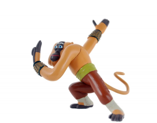 kung fu panda monkey action figure 9cm dreamworks master monkey figurine deliv. Black Bedroom Furniture Sets. Home Design Ideas