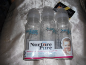 Nurturepure Glass Baby Bottle (3 Pack)