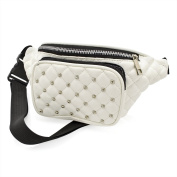 Bum Bag Fanny Pack Faux Leather Festival Studded Bumbag