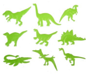 Glow in the Dark Night Dinosaurs Stickers Kids Room Wall Art Decoration
