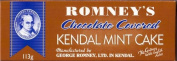 ROMNEY'S OF KENDAL Kendal Mint Cake CHOCOLATE COVERED 113g / 120ml x1