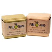 El-Koura Natural White and Green Olive Oil Soap
