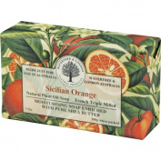 Australian Soapworks Wavertree & London 200g Soap Set of 4 - Sicilian Orange