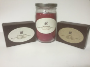 Organic Soap and Candle Gift Set