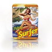 Filthy Surfer BAR SOAP Coconut Lime Grapefruit NATURAL Onolicious Citrus Choke