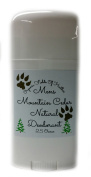 Organic & Natural Deodorant That Naturally Detoxes - Mens Mountain Cedar Scent - W/Organic Non-GMO Ingredients - For Women - Men - Kids - NO