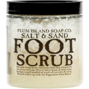 Plum Island Soap Foot Scrub - All Natural Foot Scrub