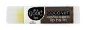 Elemental Herbs - All Good Lips Organic Lip Balm Coconut - 4.25 Grammes