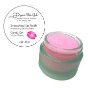 Smoochies! Exfoliating Lip Polish ~ Vegan Organic Moisturising Lip Scrub ~ 24g (Candy Girl