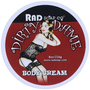 Dirty Dame Red Natural Body Cream by RAD Soap Co. 240ml
