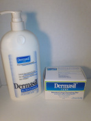 Dermasil Original Lotion 470ml & Dermasil Moisturising Cleansing Soap Bar Set