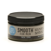 Smooth for Men Green Tea Facial Scrub with Emu Oil