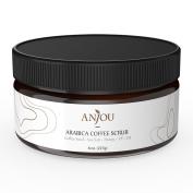 Anjou Arabica Coffee Scrub with Honey, Sea Salt, and Jojoba Oil