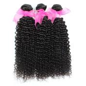 3pcs/lot 300g Brazilian Afro Curly Virgin Hair Bundles 7a Unprocessed Human Hair Weft Extensions Natural Colour