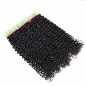 Xuchang Eecamail Hair 1 Bundles Brazilian Curly Virgin Hair Weave10-80cm Unprocessed Human Hair Extensions Natural Colour Can Be Dyed and Bleached100g/Bundle