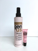 "Genus Argan Multiaction Leave-in Mask for Dry, Frizzy and Treated hair 6.76 Oz ""Free Starry Sexy Kiss Lip Plumping 10 Ml"""
