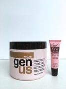 "Genus Argan Moisturising Mask for Dry, Frizzy and Treated Hair 16.9 Oz ""Free Starry Sexy Kiss Lip Plumping 10 Ml"""